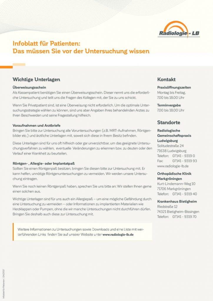 Downloads | Radiologie-Ludwigsburg